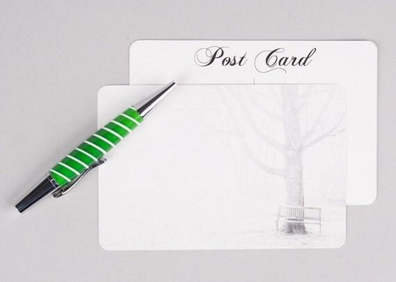 The Fog Postcard