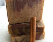 Vanilla Chai Soap - Handmade Soap - Cold Process Soap - vegan soap - marbled soap -
