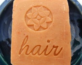 Orange Lavender Shampoo Bar  - Vegan Jojoba Shampoo Bar - Natural Shampoo Bar