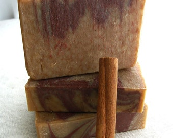 Vanilla Chai Soap - Handmade Soap - Cold Process Soap - vegan soap - marbled soap -