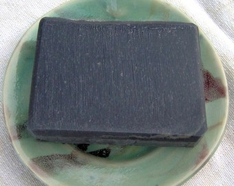 Black Magic Clarifying Activated Charcoal Soap - Vegan Facial Detox Handmade Soap - Ecofriendly Palm Free Soap