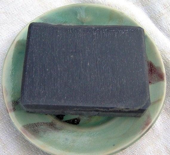 Black Magic Clarifying Activated Charcoal Soap - Vegan Facial Detox Handmade Soap - Ecofriendly Palm Free Soap