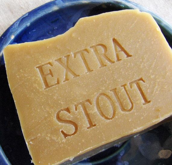 Beer Shampoo Bar - Vegan Jojoba  Extra Stout Shampoo Bar