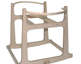 Moses Basket Stand-2 sizes - Made in the USA