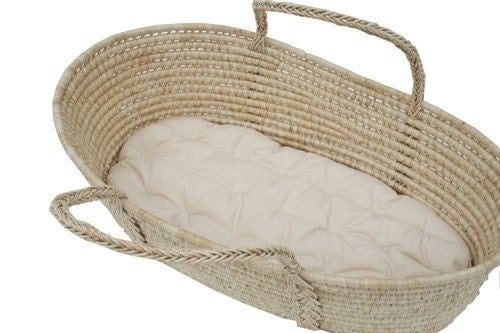 moses basket futon with two 2 fitted sheets 100 organic