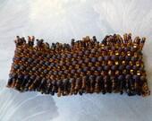 Peyote Stitch Bracelet- Snappy Shine