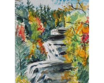 Triple Falls, Dupont State Park, NC