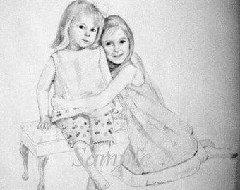 Pencil Portraits by Commission