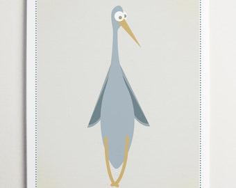 Skinny Old Funny Bird by ModernPOP