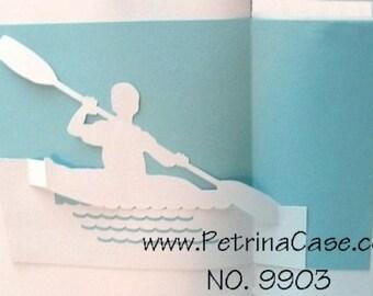 Kayak Pop-Up Card ITEM 9903