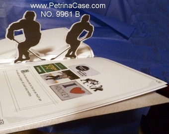 Hockey Pop-Up Book - Design 9961B -SIX Pop-Ups