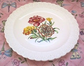 Copeland Spode England Carnation Pattern Serving Plate