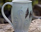 Fern Fiddlehead Coffee Mug by Bunny Safari
