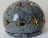 RESERVED for ANETA - Globe Candle Holder Stars and Moon
