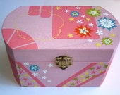 RESERVED FOR LIZ Stars and Flowers Box OOAK