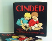 Cinder, a 1934 Children's Book About a Kitten by Romney Gay
