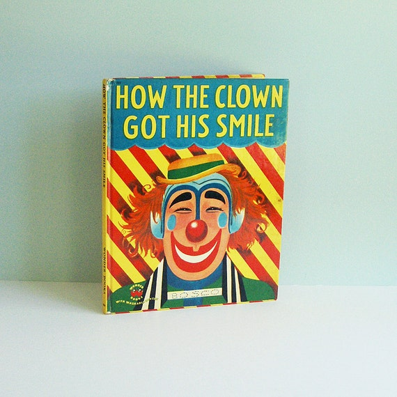 On Reserve for Mie Maja Kruse: How the Clown Got His Smile, a 1951 Children's Book