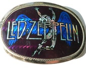 RESERVED for Steve -Vintage Original 1978 Pacifica Los Angeles Led Zeppelin Belt Buckle Rock n Roll