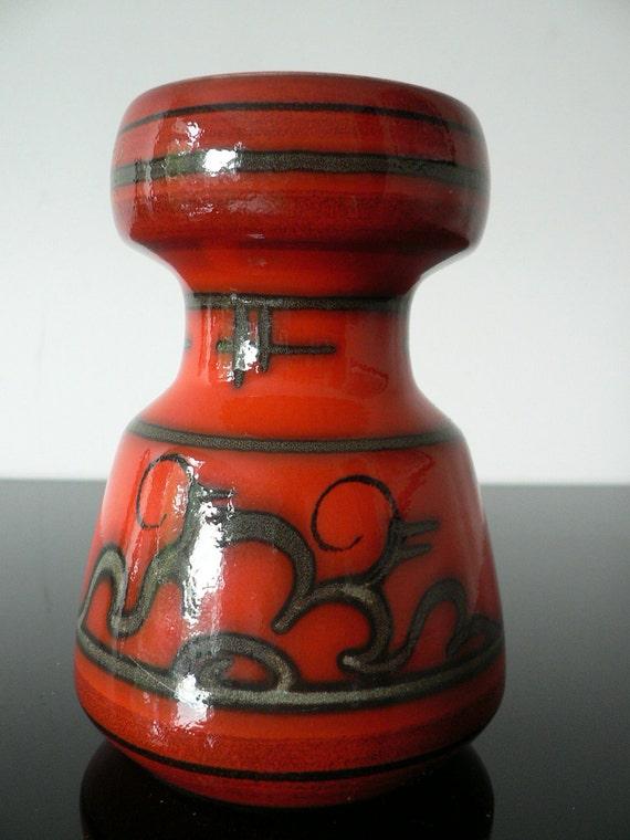 Gouda Dutch Art Pottery Vase Tokio Design