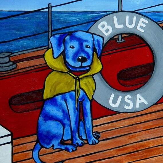 11 x 16-DEEP BLUE SEA- Print