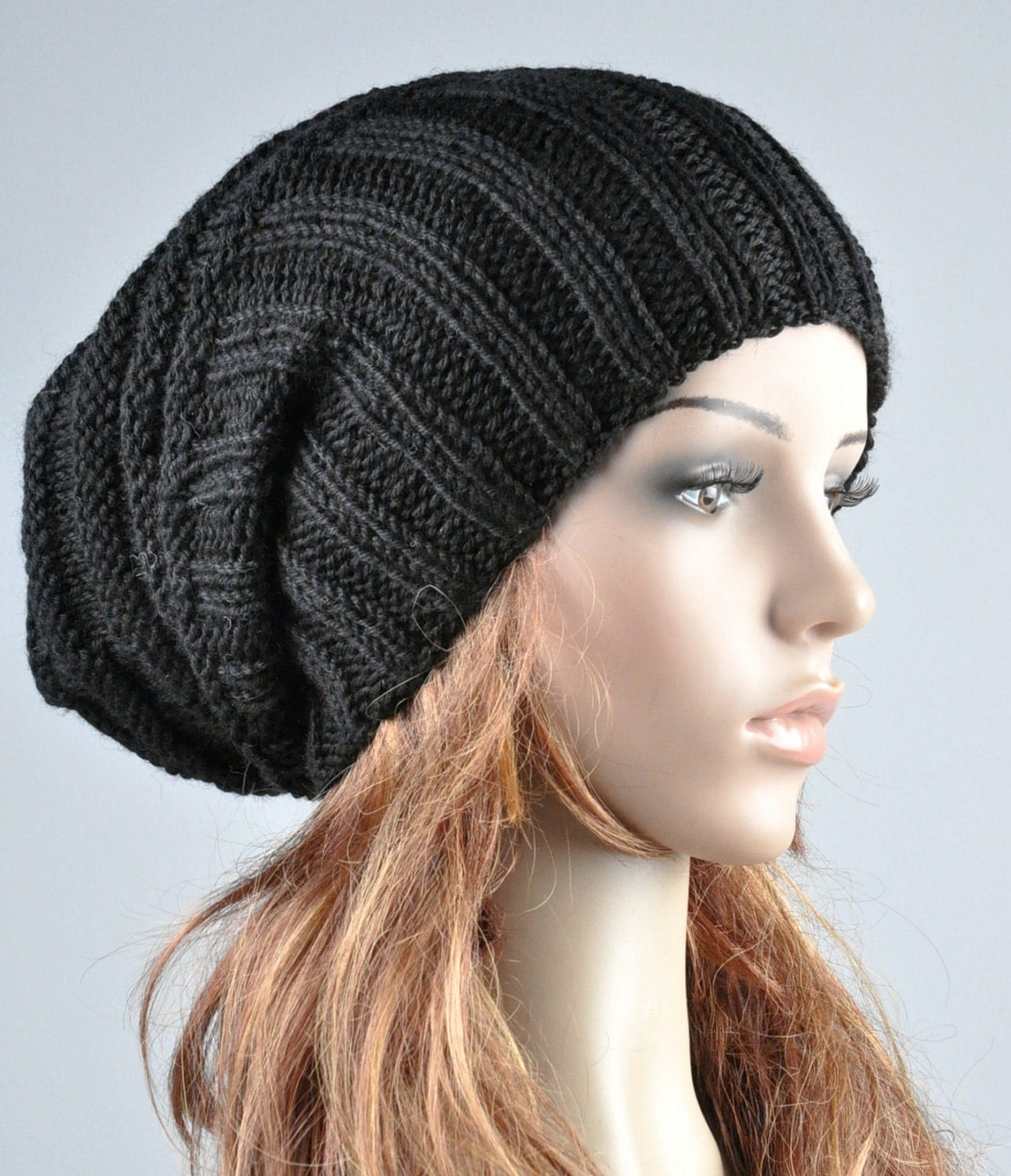 Winter Hats for Women,Berets for Women,Knit Beret Hats Zebra Print Lightweight Soft Wool Berets for Women $ 17 08 Prime. 5 out of 5 stars 3. Women Girl Triangle Slouchy Knit Beret Beanie Hat Cap Black $ 3 out of 5 stars Accessory Necessary. Womens Fall Winter Ribbed Knit Beret Double Layers With Flower. from $ 8 99 Prime.