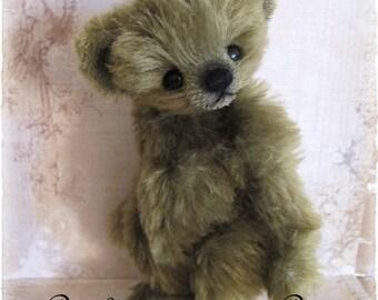 """Booh Bear PDF e Pattern to make 9"""" Forestina by Janice Woodard"""