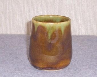 Ceramic Tea bowl - Yunomi - Teacup - Wheel Thrown Mug - Stoneware Tea cup -  Pottery Handleless Mug - Juice Cup- Tumbler