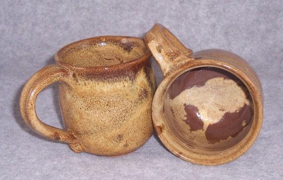 Ceramic Mug Coffee Mugs Set Handmade Stoneware Wheel ThrownsCeramics Pottery