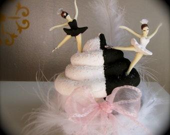 "Fake Cupcake ""Swan Lake"" Tribute Cupcake 12 Legs Original Concept Cupcake Movie Collector Series"