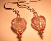 Pink Foil Hearts