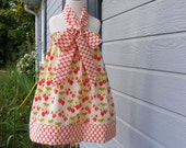 Custom Made Halter  Dress-12 mos -8 years old-Amy Butler and Sandi Henderson Fabric