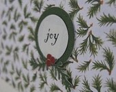joy holiday card set