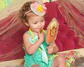 DRESS UP DATE hairpiece for infants, teens, and women. for special occasions, photo shoots, weddings, bridesmaids, and flower girls