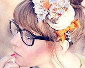 HELLO SMARTIE-- Hairpiece for special occasions and photo shoots, nerd,circus, matilda jane fanatics