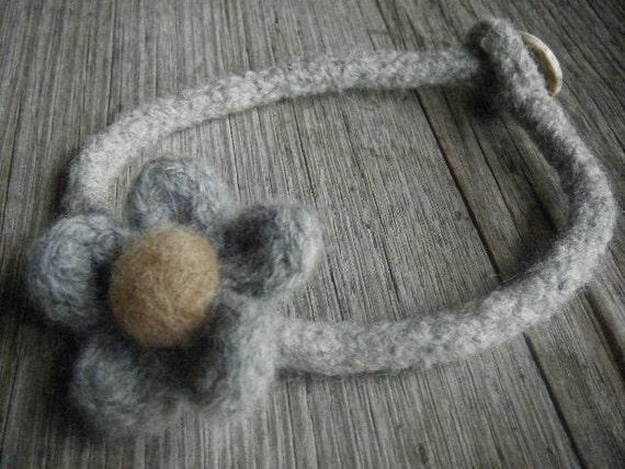 Grace Merino Wool Felt Necklace/Bracelet