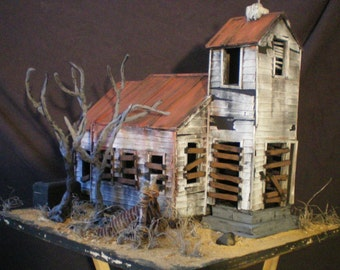 jeepers creepers haunted church. the haunted construction co. haunted hollywood collection.