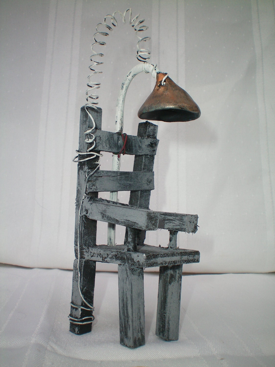 Modern electric chair execution - Electric Chair The Haunted Construction Company Miniature