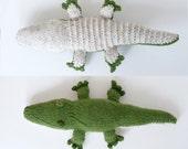 Knit Alligator Pattern