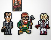 Half-Life 8-bit NES style Fridge Magnets - Arcade Art
