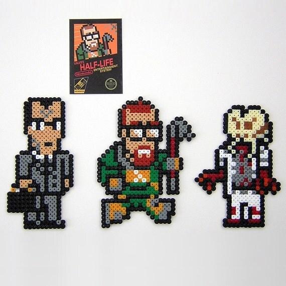 Half-Life 8-bit Retroactive - NES style Magnets