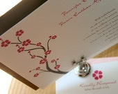 Cherry Blossom Wedding Invitation ... You Print