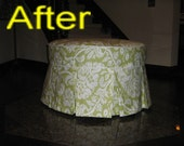 Linda's custom ottoman cover - reserved listing