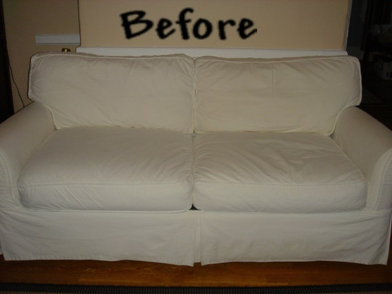 Items similar to Custom Sofa Slip Cover promo listing on Etsy