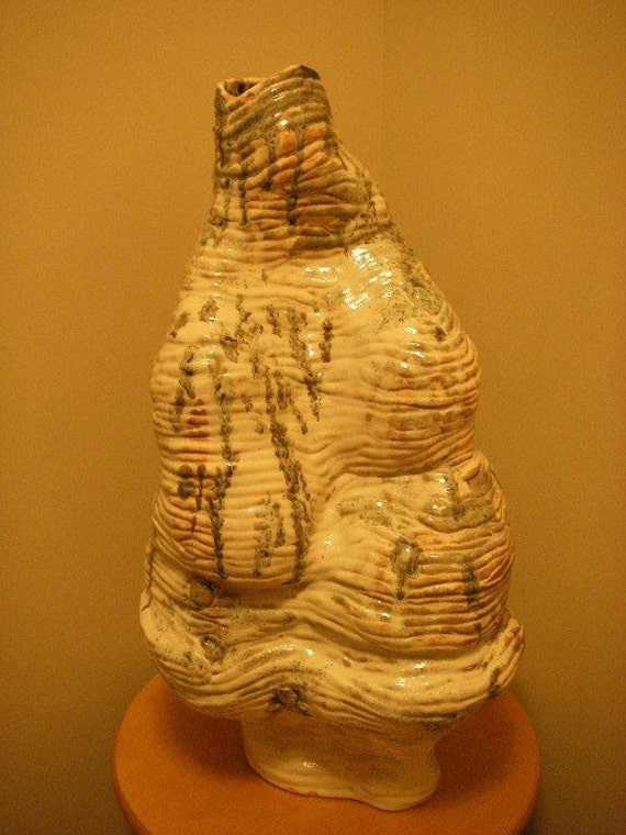 CERAMIC VASE SCULPTURE CONTEMPORARY ABSTRACT ART