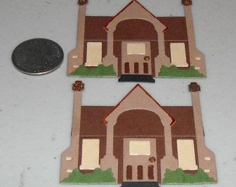 Houses - 2 to a set