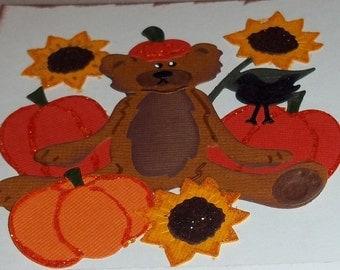 Pumpkin Patch Bear set - 8 pieces to a set