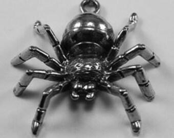 Large Spider pendant made with Australian Pewter AF341