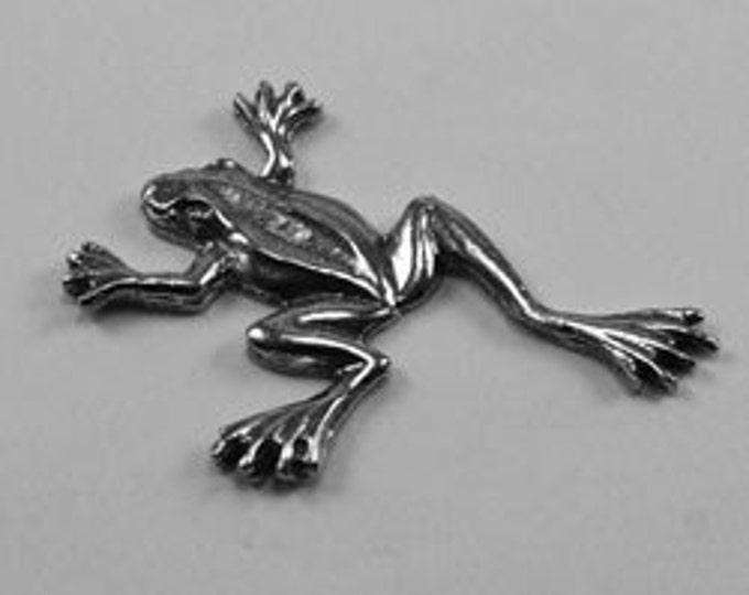Flat Backed Frog  no bail Australian Pewter