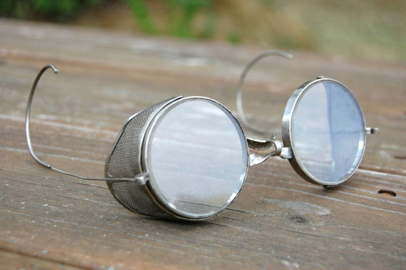 Vintage Industrial Safety Goggles Steampunk