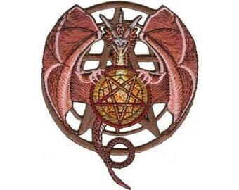 Pentagram Dragon Patch